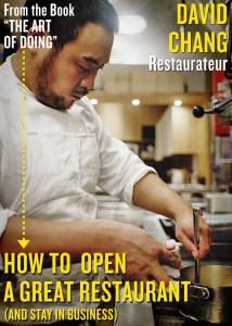 David Chang the art of doing momofuku