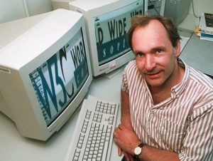 Tim Berners-Lee creator of the Wolrd Wide Web