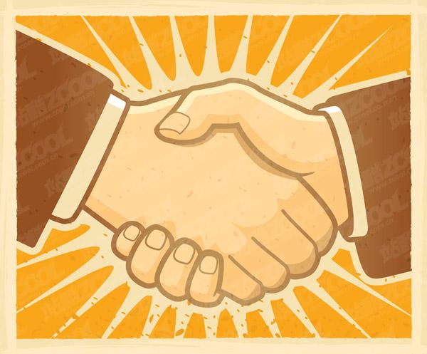 Handshake Illo